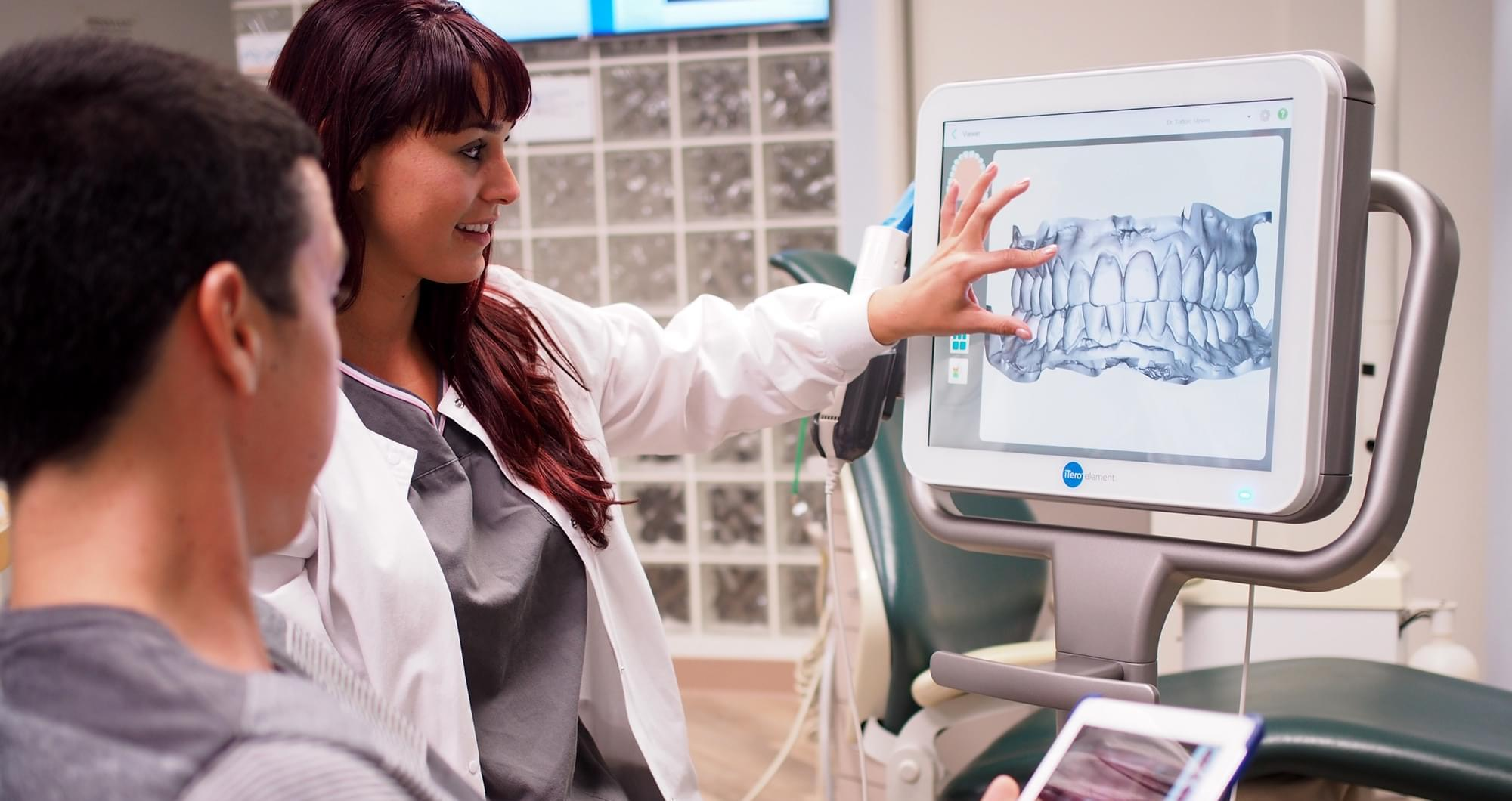 professional teeth scan at tottori clinic